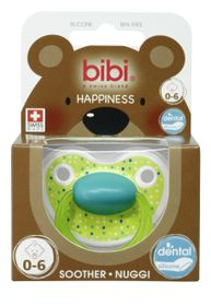 Bibi - Soother Silicone - Lovely Dots - 0 - 6 Months
